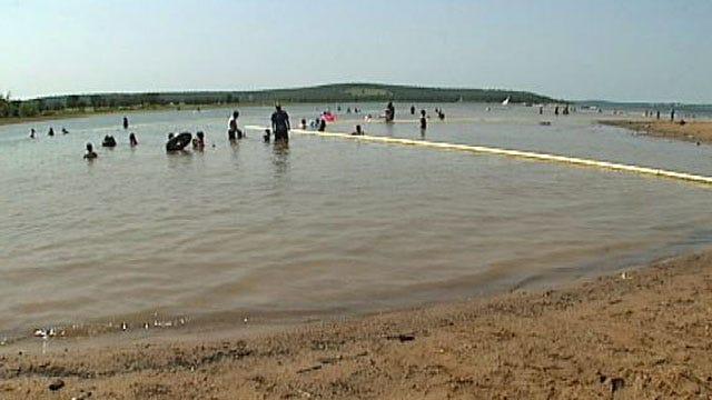 Low Water Level Prompts Closure At Skiatook Lake Swim Beach