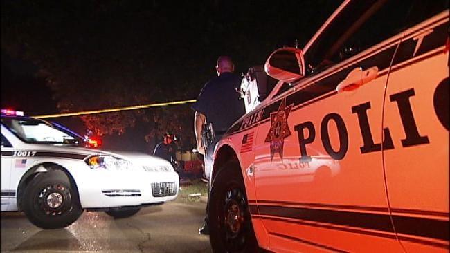 Neighbors Report Exchange Of Gunfire Before Tulsa Wreck