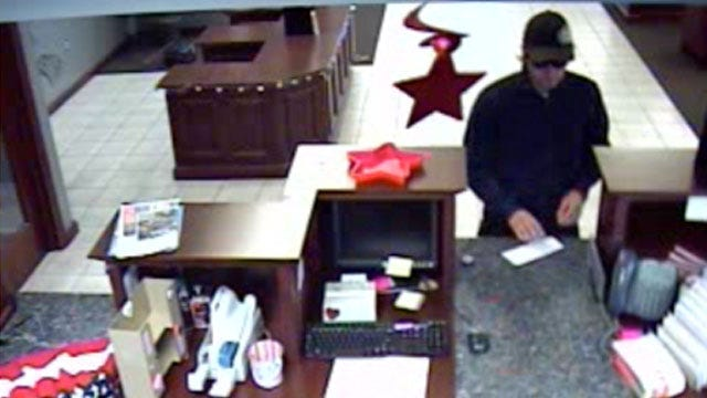 Man Hands Teller Note, Takes Cash In Sand Springs Bank Robbery