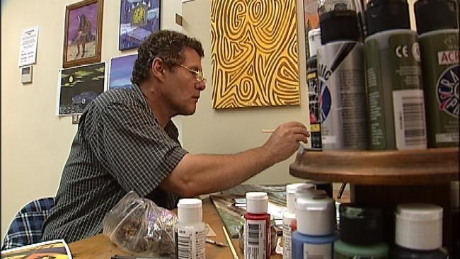 Tulsa Artist Gets Dirty For Food For Kids Program