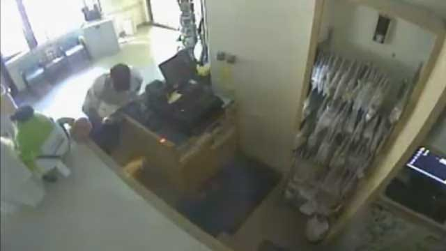 Tulsa Police Search For Pharmacy Burglary Suspect