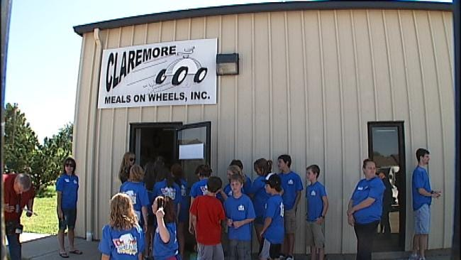 Claremore Students Spend Summer Vacation Helping Others