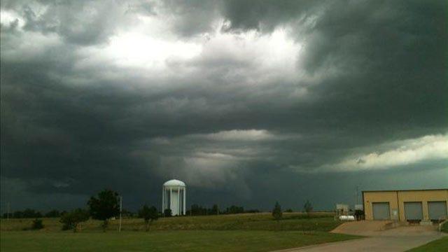 Strong Storms Move Across Northeast Oklahoma
