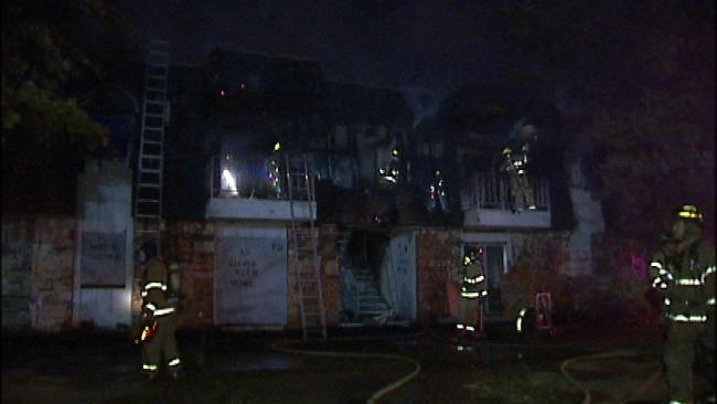 Suspicious Fire Cause Under Investigation At Tulsa Apartment Complex
