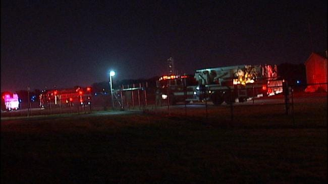 Jones Riverside Airport Hangar Explodes In Flames Early Thursday