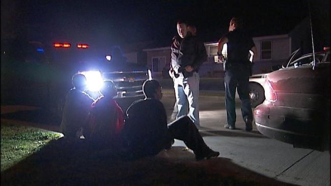 Officers Arrest 129 In Tulsa Gang, Gun And Drug Sweep