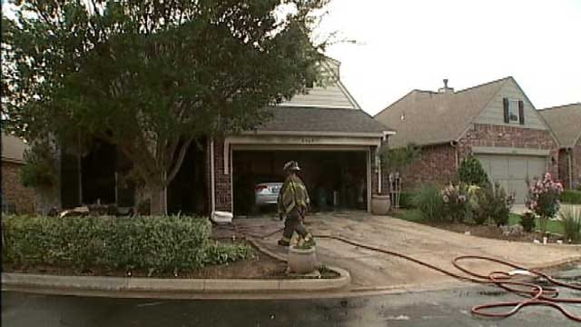 Neighbors Help Rescue Tulsa Woman From Burning Home