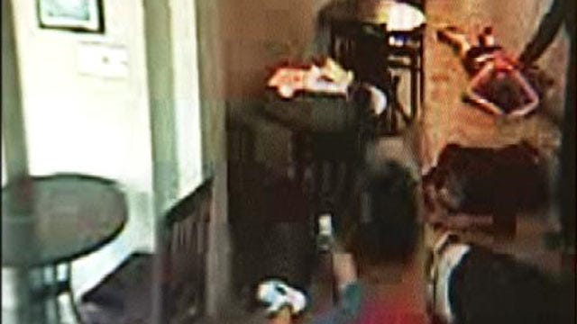 Surveillance Video Released In South Tulsa Cafe Robbery