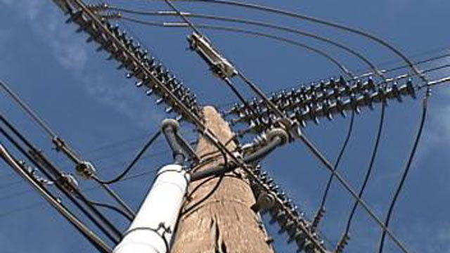 Tree Branch On Power Lines Causes Outage In Bixby Early Monday