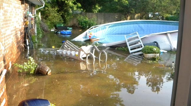 Claremore Family Experiences Flash Flood Thanks To Worn Out Pool
