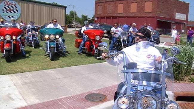 Collinsville Bikers Ride For Cancer Benefit