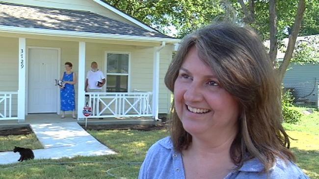 Habitat For Humanity Dedicates New Home To Tulsa Woman