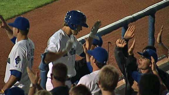 Drillers' Pitching Lifts Them To Win Over Springfield