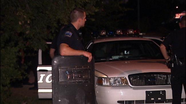 Man Arrested After He Fires Shots Inside His East Tulsa Home