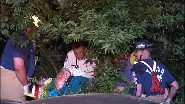 Tulsa Police Say Speed A Factor In Turkey Mountain Crash