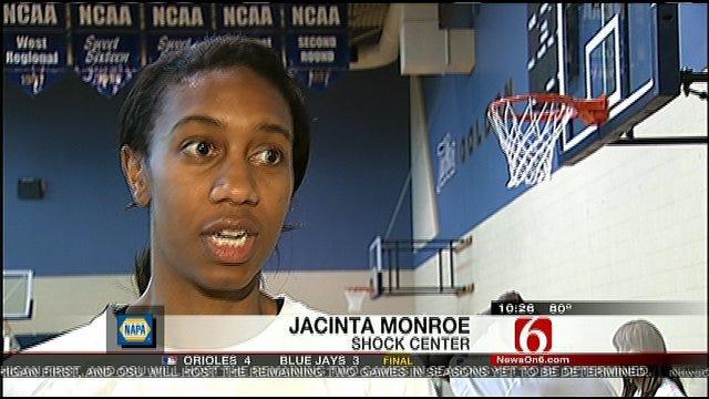 Tulsa Shock Waives Jacinta Monroe