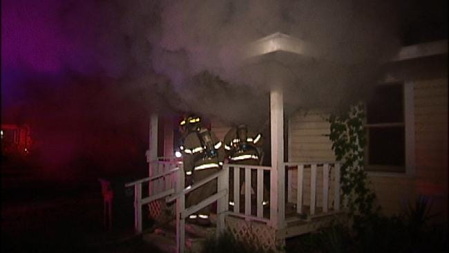 Vacant Tulsa Home Goes Up In Flames Early Friday