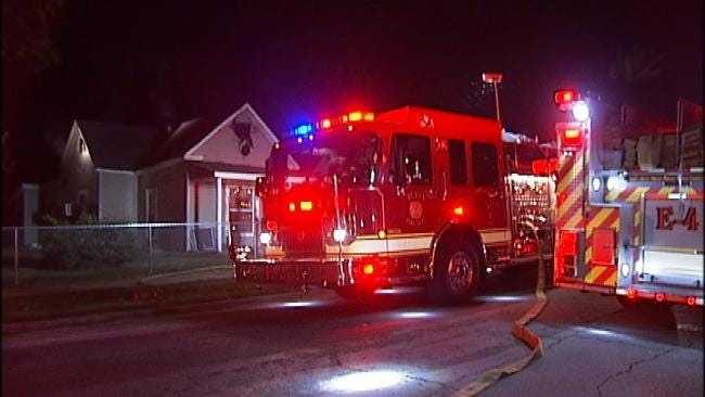 Cause Of North Tulsa House Fire Under Investigation