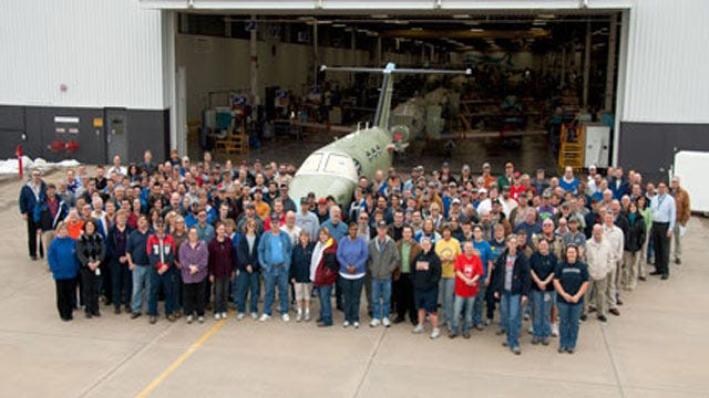 Cessna Celebrates 15 Years Of Building Airplanes In Independence, Kansas