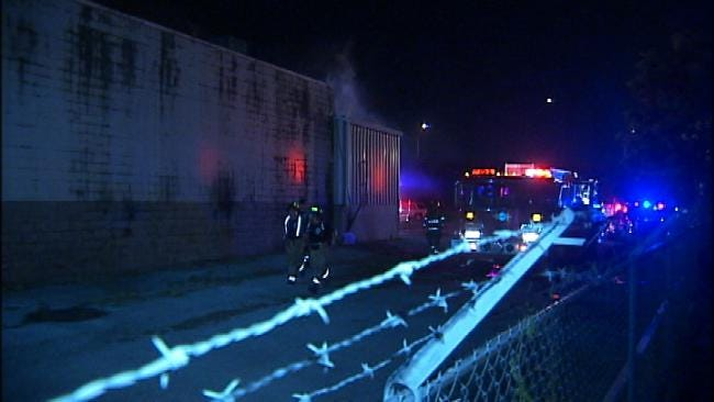 Blocked Entryways Make Tulsa Building Fire Hard To Fight
