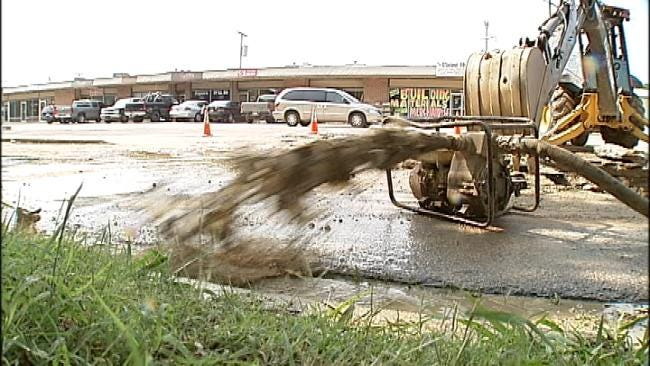 Rash Of Tulsa Water Main Breaks Blamed On Hot Weather