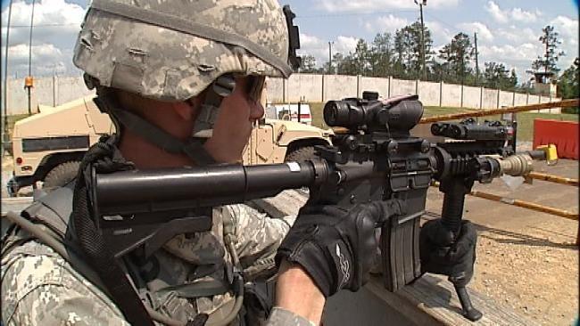 Oklahoma Soldiers Uninjured After Mississippi Lightning Strike