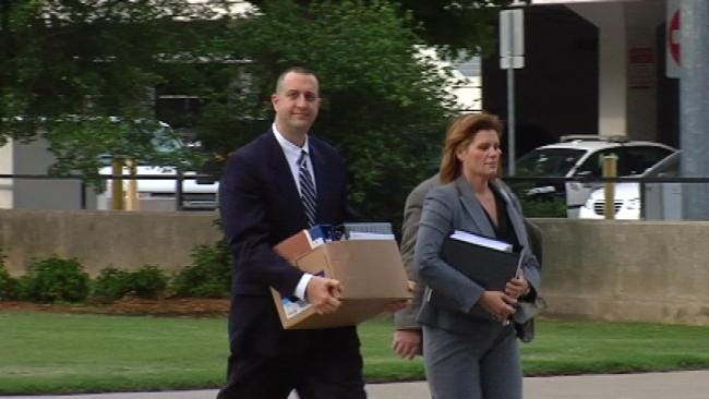 Tulsa Officer Nick DeBruin Calls Corruption Charges 'Crazy'