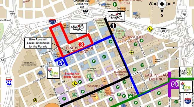 Downtown Tulsa Events Prompt Weekend Road Closures