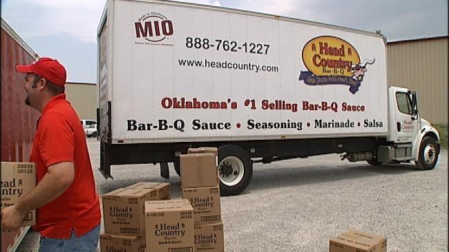 Joplin Tornado Victims Get Taste Of Oklahoma Barbecue