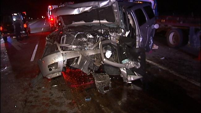 OHP: Wrong Way Driver Dies In Okmulgee County Crash