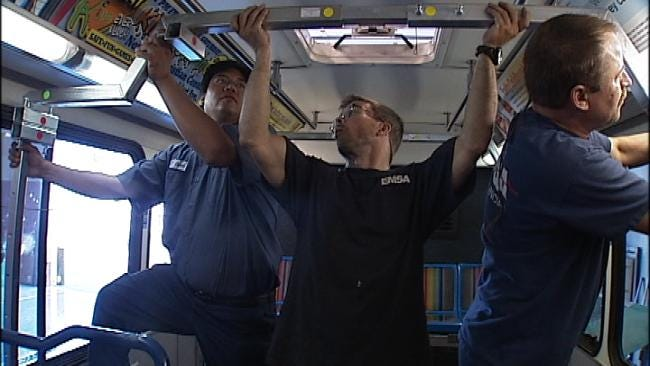 Partnership Transforms Tulsa Transit Bus Into Ambulance
