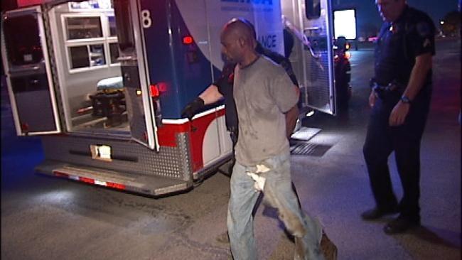 Tulsa Police K9 Officer Nabs Suspected A/C Burglar