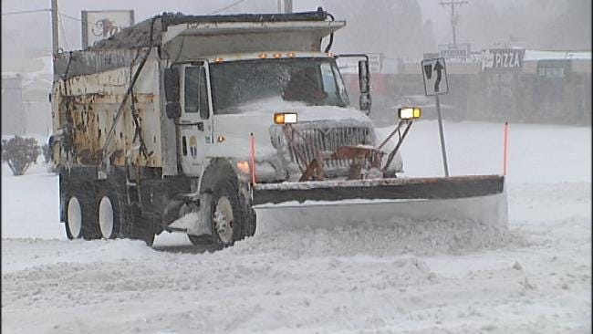 City Of Tulsa Studying Using Trash Trucks As Snow Plows