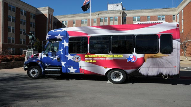 Oklahoma Veterans Transportation Service Gets New Bus