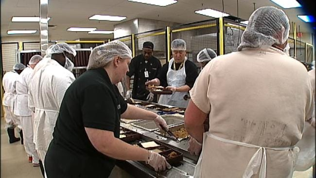 New Kitchen Unveiled At David L. Moss Criminal Justice Center
