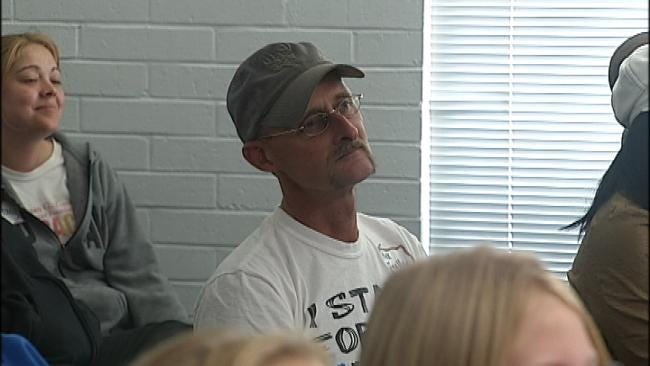 Oklahoma Father Takes Part In National Campaign Against Bullying