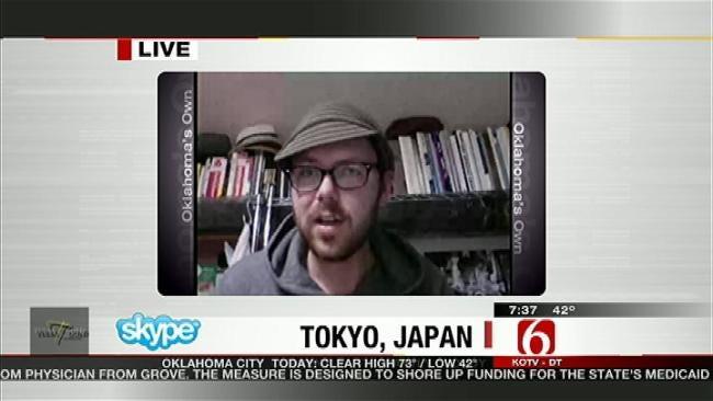 Tulsan Living In Japan Describes Earthquake Experience