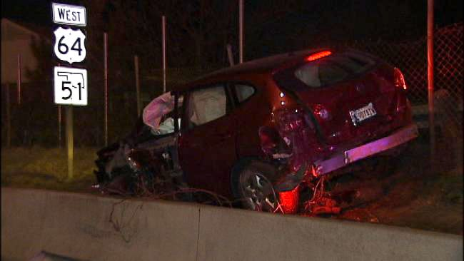 Night On The Town In Tulsa Leads To Joy Ride And Wreck