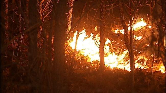 Oklahomans Still Burning Despite Fire Risk