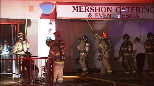 Tulsa Catering Business Burns Overnight Sunday