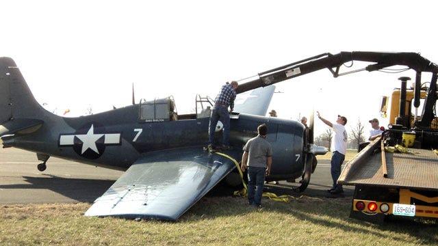 Oklahoma Pilot Unhurt After Historic Plane's Missouri Landing Mishap