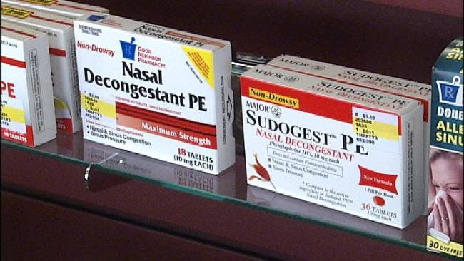 Police And Prosecutors Fear Pseudoephedrine Bill Won't Pass