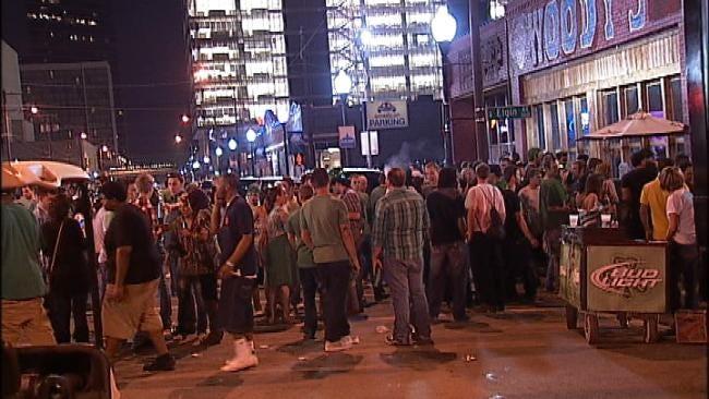 Downtown Tulsa Holds St. Patrick's Day Celebrations