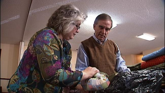 Bartlesville Children's Ministry Makes Donation To Project Warmth