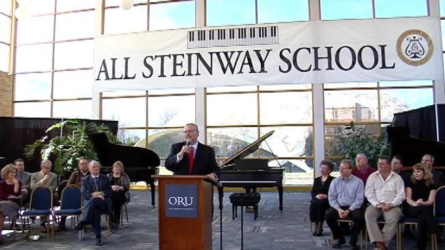 Oral Roberts University Becomes All 'Steinway' School