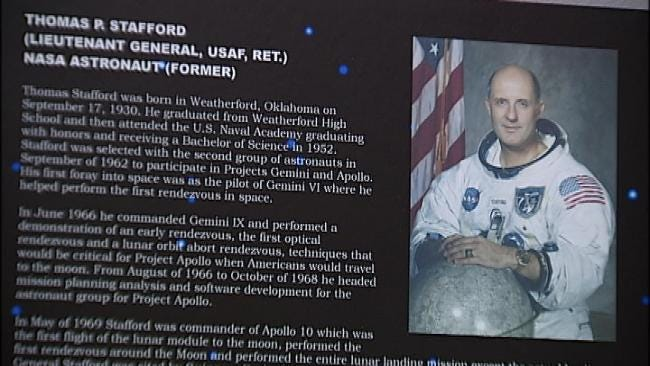 Tulsa Air And Space Museum Lands Apollo 10 Medal