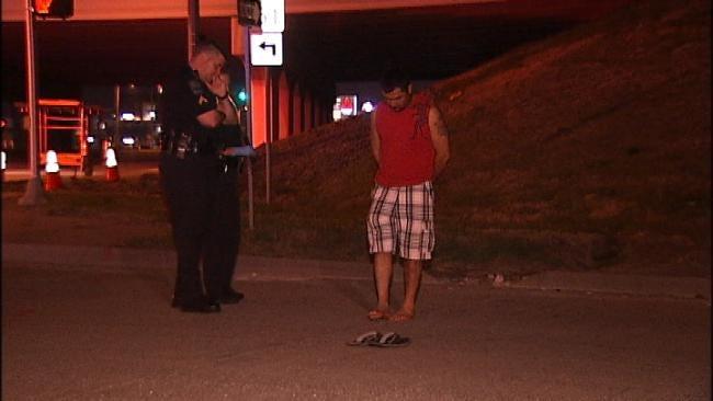 Truck Driver Arrested After Crash Sends 3 To Tulsa Hospitals