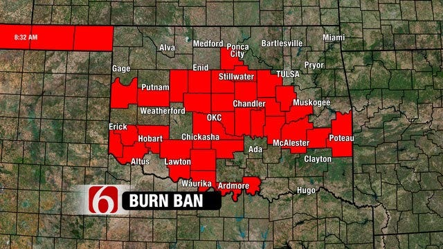 Red Flag Fire Warning Issued For Much Of Western Oklahoma