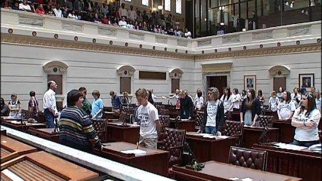 Students Lobby Oklahoma Lawmakers Over Anti-Bullying Legislation
