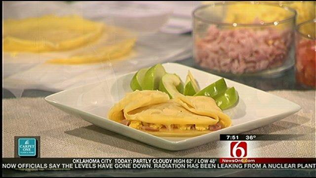 Homemade Breakfast Crepes